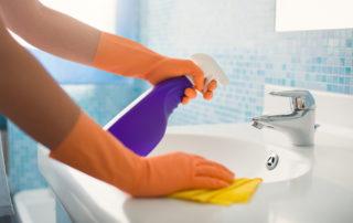 Bathroom Cleaning Hacks   Golden Maids in Milwaukee